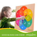 Дети Красочные Деревянные Tangram Головоломки Игры обучающие головоломки рано образования развивающие Детские Игрушки