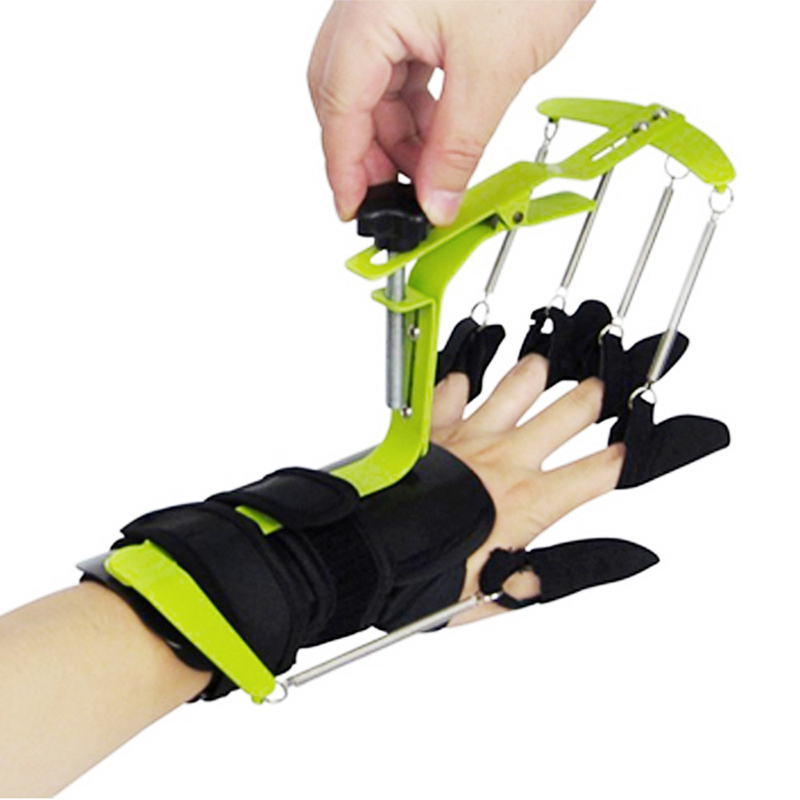 Multifunctional Fingers Wrist Hand Exercises Recovery Training Dynamic Wrist finger Orthosis for Wrist Hand Health Massage electronic iv training hand injection hand