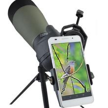 Universal Telescope Spotting Scope Camera Adapter Mobile Phone Stand Holder Bracket for most smart mobile phone
