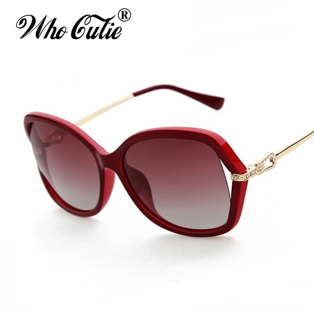6da5cda30f WHO CUTIE Summer 2017 Polarized Butterfly Sunglasses Versae Women Retro  Vintage Tortoise Shell Lady Ray Sun