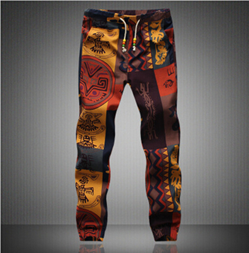 2018 New Design Fashion sweatpants Hawaiian Comfortable Leisure Brand High Quality Men Pants  Casual Mens Joggers Asian size 5XL