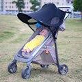 Carrinho de bebê carrinho anti uv gazebo dodechedron windproof capô sol guarda-chuva de proteção sxueen
