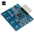 Новый 4 Канала Цифровой Сенсорный Емкостной Датчик Переключатель Кнопка Модуль Для Arduino TTP224 Электронные Платы