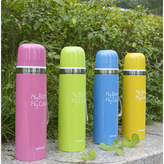 1pc Thermos CupThermo Mug Vacuum Stainless Steel Bottle Thermal Thermos Bottle Insulated Tumbler Travel Thermocup Coffee Mugs 3