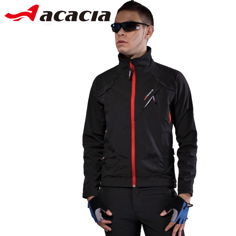 ACACIA Cycling Sets Winter Thermal Fleece Suits Warmly Unisex Bicycle Long Jacket Trousers ciclismo Cycling Clothing Sportswear цена