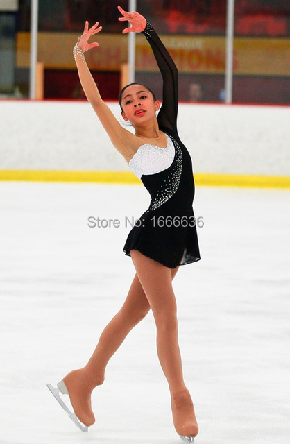 professional custom figure ice skating dresses for girls new brand