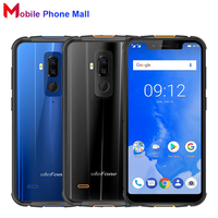 Ulefone Armor 5 IP68 Waterproof Mobile Phone 5.85 inch 4GB+64GB ROM MTK6763 Octa Core Android 8.1 5000mAh NFC Face ID Smartphone