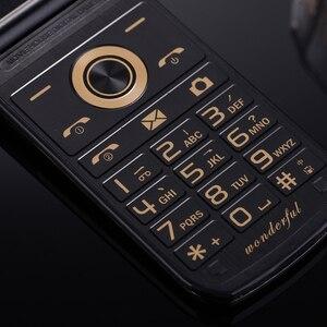 Image 3 - Unlock Flip Slim Touch Dual Display Senior Telephone For Elders Two Sim Camera P047