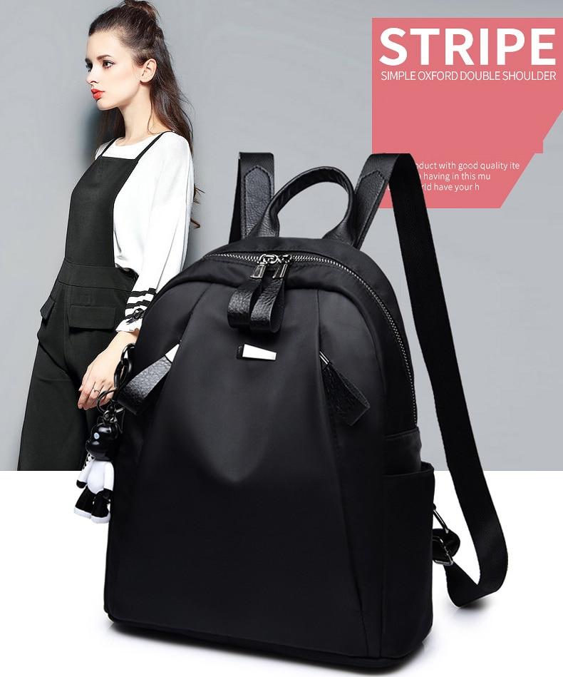 Mochilas mujer 2019 New Oxford cloth waterproof student bag Travel casual backpack women outdoor bag mochila feminina CL05