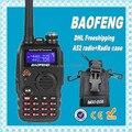 DHL freeshippin+BaoFeng a52 Digital Intercom Interphone 2 Way 136-174MHz/400-520MHz Radio Dual Band Transceiver+msc-20b case