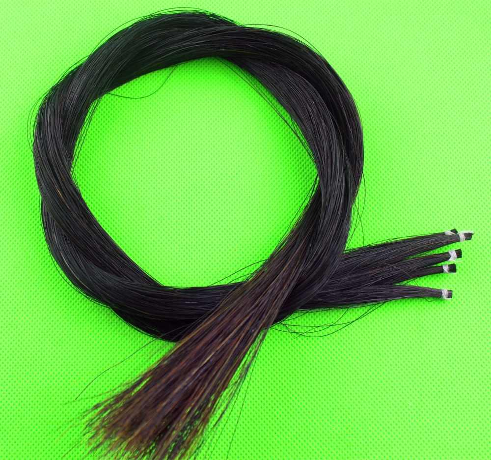 1000g AAA violin viola cello Mongolia natural white bow hair horse tail 90cm
