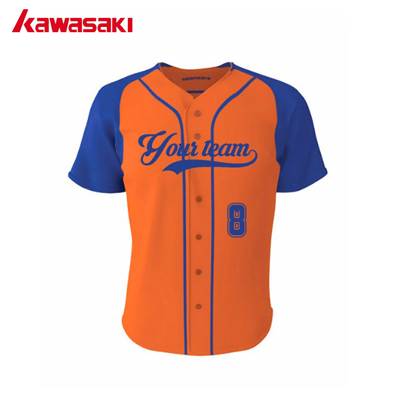 30a0da1ee Kawasaki Custom Men's Classic Fans Baseball Jersey Practice Top Breathable  Quick Dry Sports Training Softball Jerseys Shirt