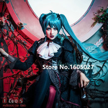Halloween Dress Gothic Vampire Cosplay Women Masquerade Party Miku Lolita Gothic Vampire Costume Gothic Vampire Figure Clothing