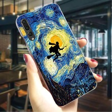 Starry Night Hard Cover for Huawei Honor 9 Lite Hybrid Phone Case  Covers Skin