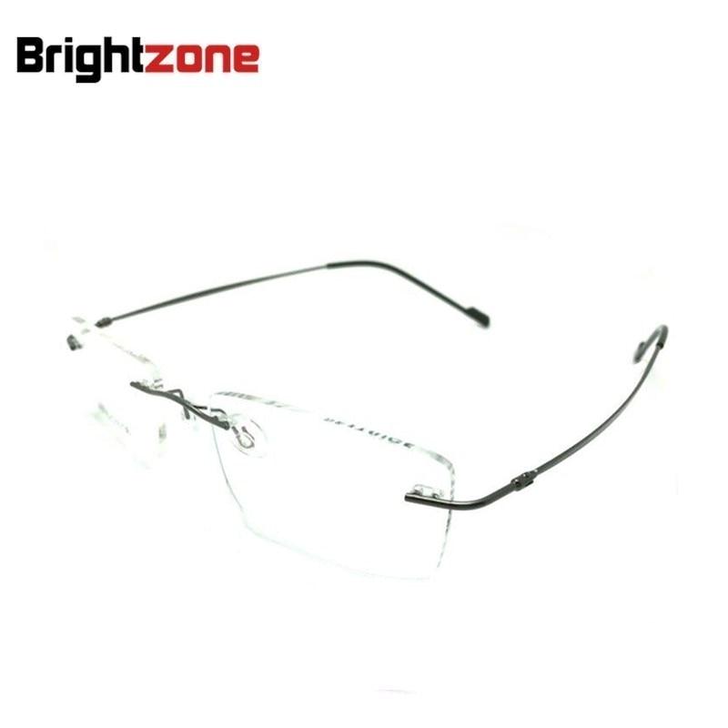 a932286eec Retail 9 colors fashion rimless glasses frames fashion memory titanium eyeglasses  frames prescription optical frames ocluos de