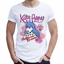Summer 2018 Urban Man T-shirt Katy Perry California Dreams Fashion Funny T  Shirts Tumblr 2b7a30130aa8