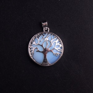 Image 2 - ขายส่ง 24 ชิ้น/ล็อต Tree of Life จี้สร้อยคอ Lapis Lazuli หินธรรมชาติจี้ Handmade Reiki Charm เครื่องประดับฟรีจัดส่ง