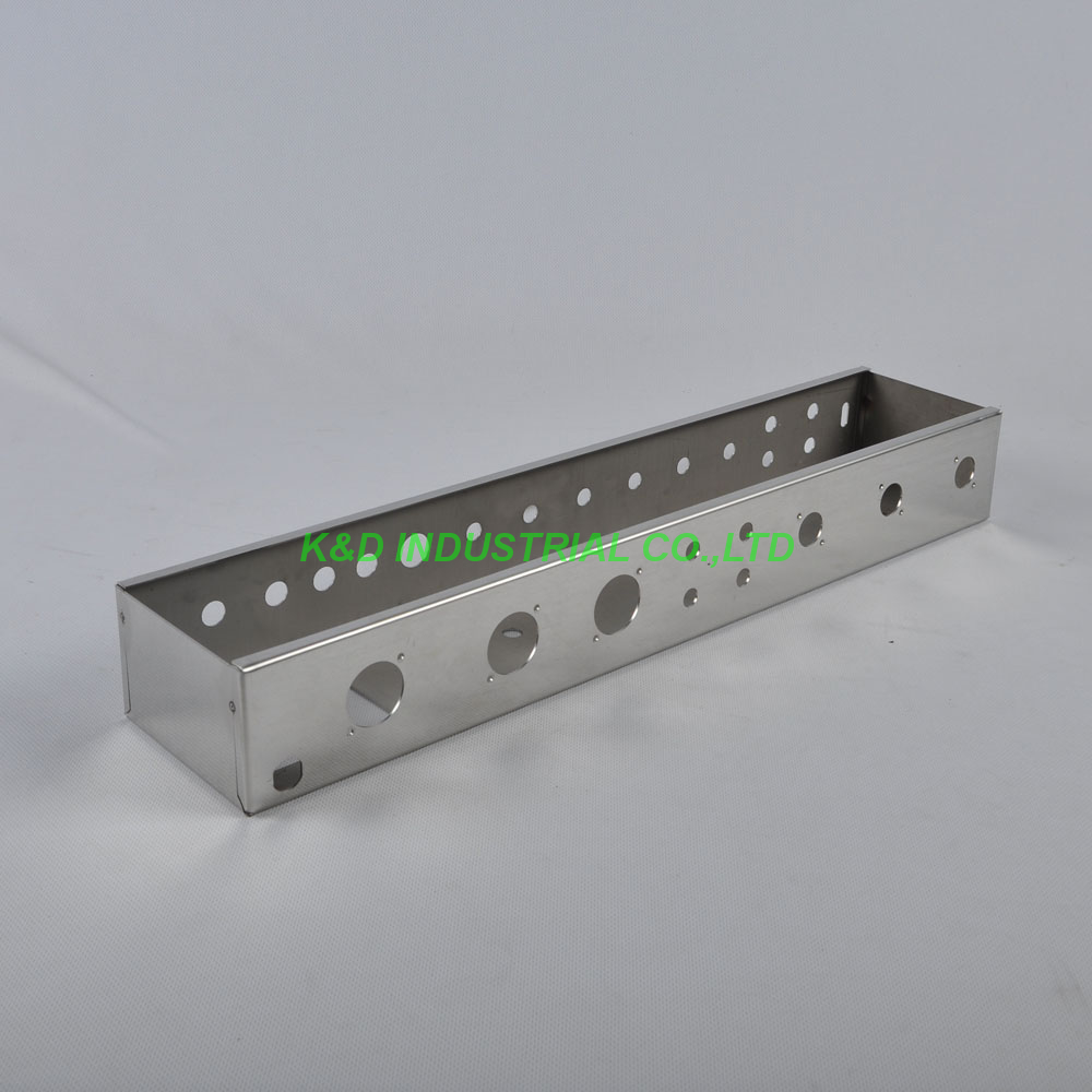 1pc Bassman Tweed 5F6A Guitar Bass Amp Amplifier DIY Deluxe Chassis Chrome Plate fender super bassman® 300w head