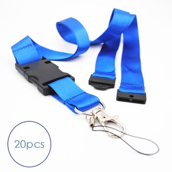 20 packs 32GB pen drive flash drive Royal blue Navy blue black Smartphone lanyard neck strap easy clip with Lobster clip and usb