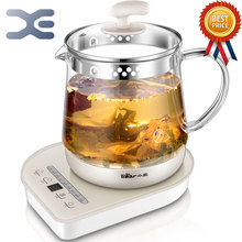 High Quality Multifunction Kettle Electric 1.5L Glass Electric Cooking Pot Appointment Timing Kettle