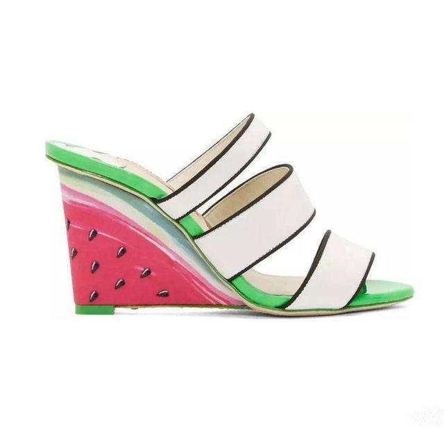 Watermelon Peep Toe