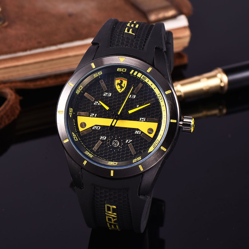 Fashion Men Quartz Wristwatch Multifunctional Leisure Sports Waterproof Watch Men's Top Design High-Quality Wristwatch R5632907 high quality outdoor sports leisure fashion men watches multi functional quartz wrist watch creative
