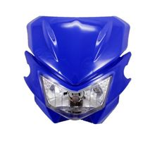 Motocicleta universal 12 v halógena faro dirt bike street fighter carenado kit para honda yamaha kawasaki suzuki