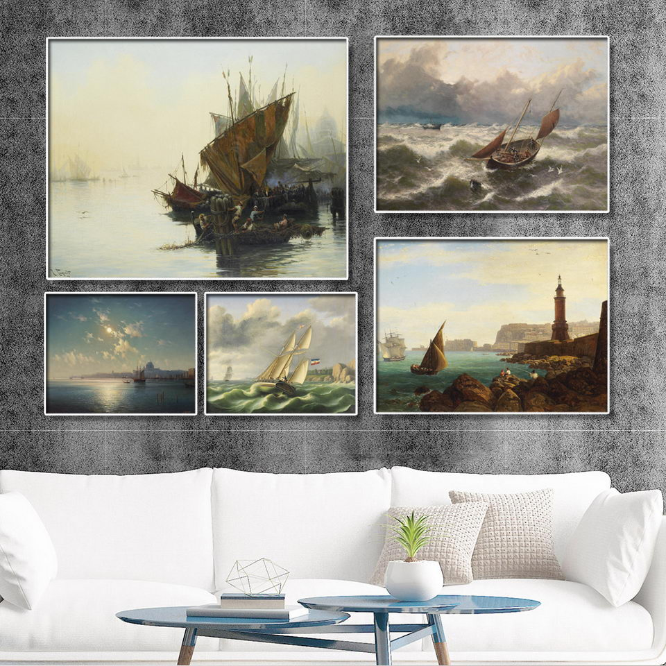 Home Decoration Print Canvas Wall Art PicturePaintings ...