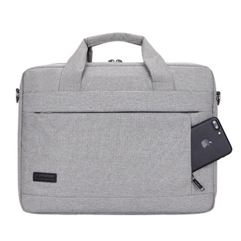 SHUJIN Large Capacity Laptop Handbag For Men Women Travel Briefcase Bussiness Notebook Bags 14 15 Inch Macbook Pro  PC