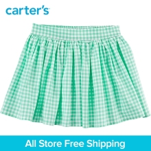 Carter's 1-Piece baby children kids clothing Girl Spring Summer Gingham Poplin Skirt 258G980/278H019