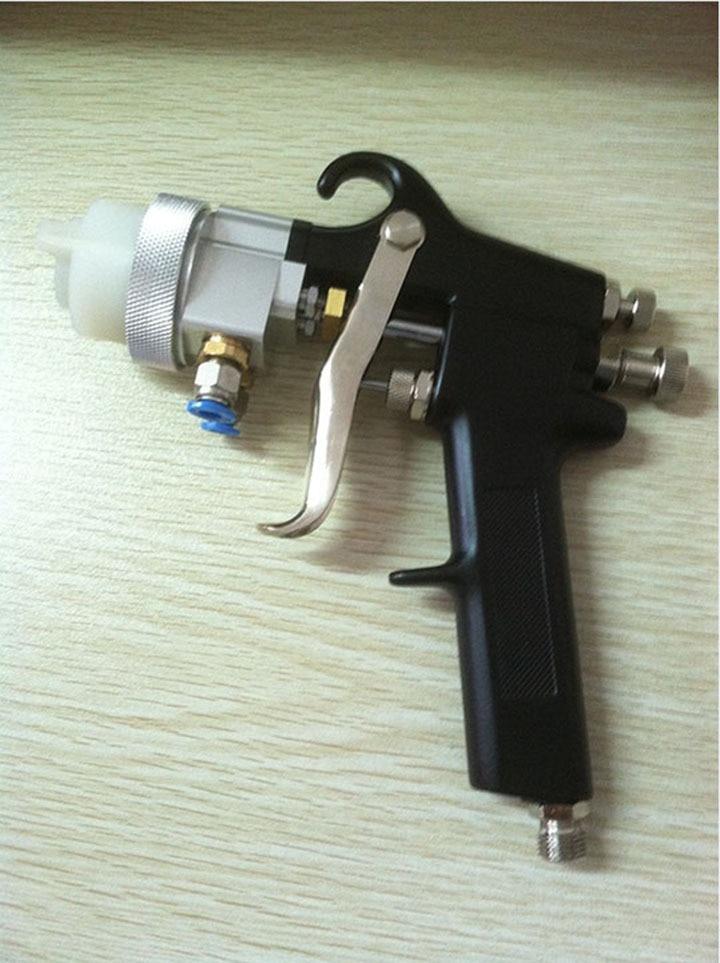 SAT1182 forró eladás 95 krómlemez festékpisztoly kettős fúvóka - Elektromos kéziszerszámok - Fénykép 2
