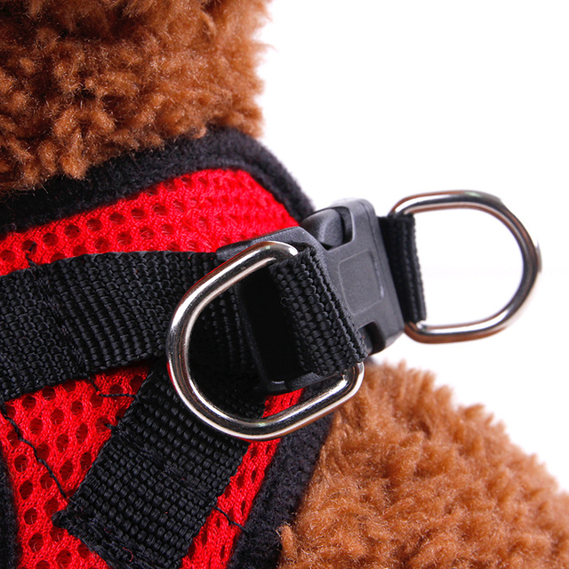 Adjustable Dog Harness Vest Puppy Cat Polyester Mesh Chest Soft Comfort Pet Strap For Small Dog Doggies Accessories DOGGYZSTYLE