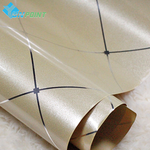 Image 4 - 0.6x3M Gold Glossy Paint DIY Decorative Film Silver Line PVC Waterproof Self adhesive Wallpaper Old Furniture Renovation Sticker