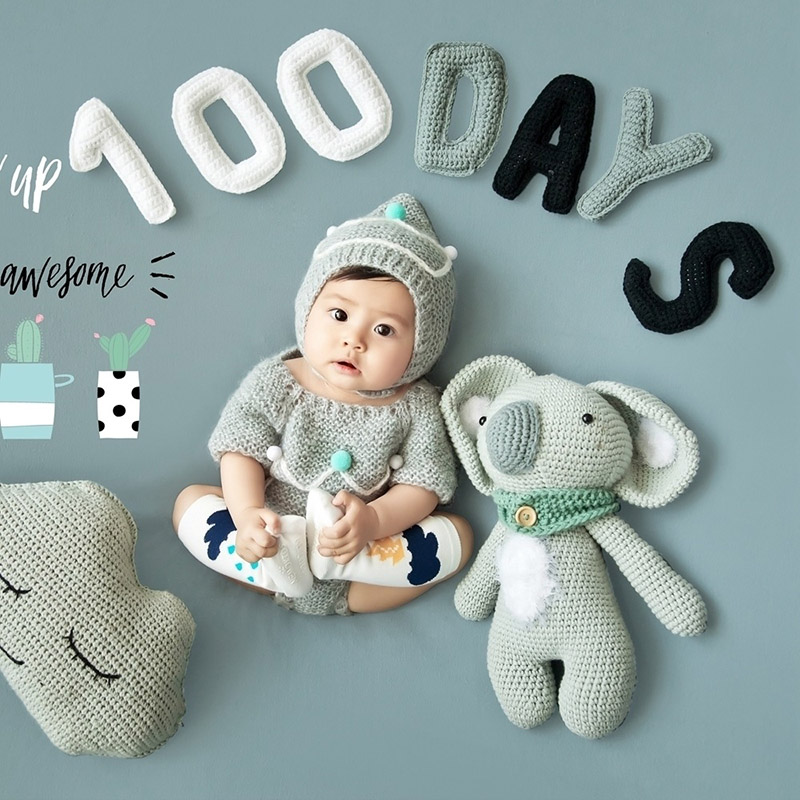 Infant Boy Photography Props Tiny Girl Birthday Picture Photo Shoot Studio Outfits Clothes Photographer fotografia Accessories tassel trim floral bardot top