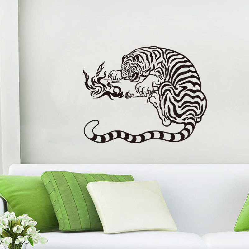 Playing Games Tiger Vinyl Wall Decals Home Decor For Living Room Decoration  Kitchen Sticker For Kids. Popular Kitchen Decoration Games Buy Cheap Kitchen Decoration