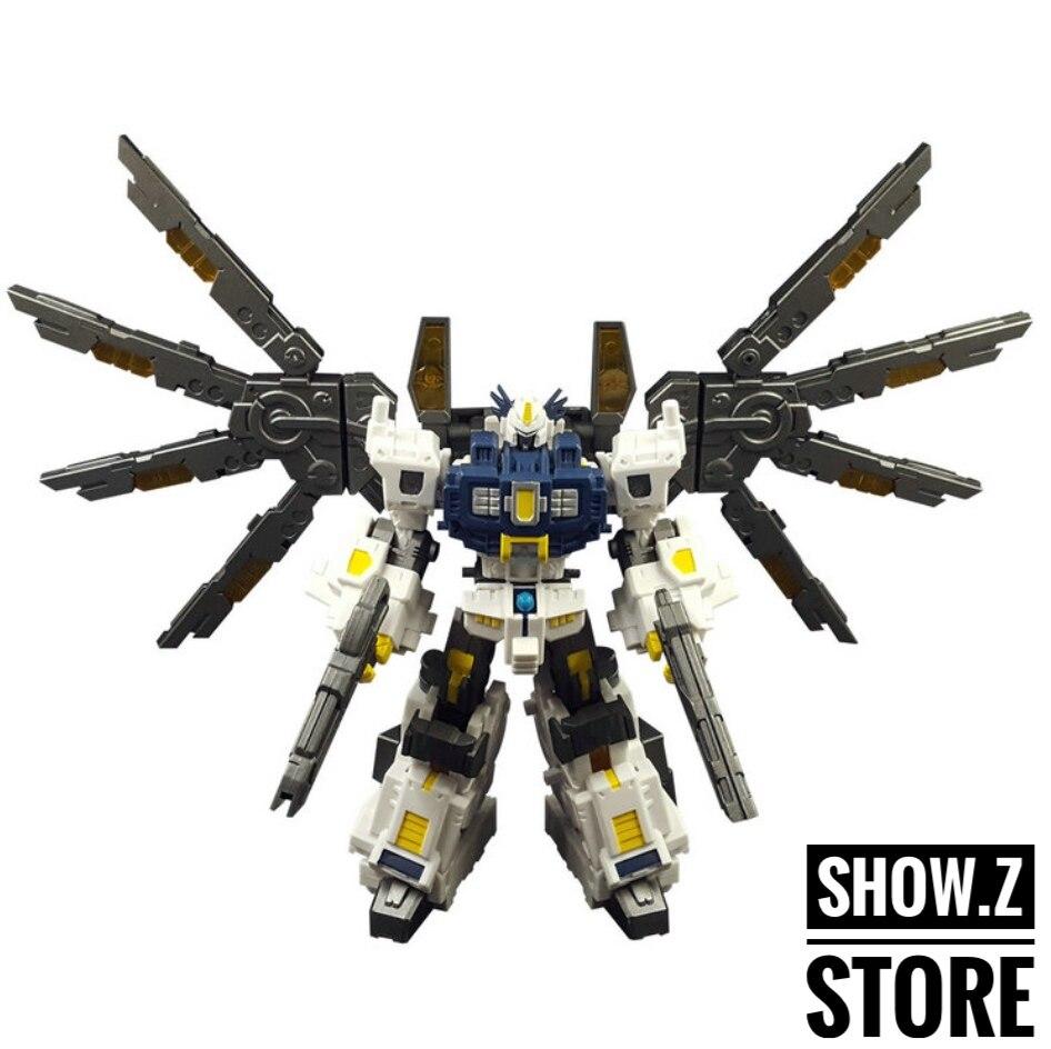 [Show.Z Store] IronFactory IF EX-14L Steel Lucifer Nova Action Figure Transformation