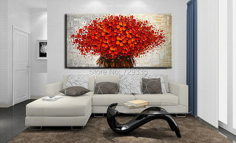 Aliexpress Com Buy New Handpainted Modern Large Oil Painting On Part 15