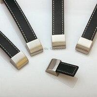 Free Shipping Kitch 160mm Leather Handle Doorknob Furniture Handle Knob Drawer Closet Shoe Cabinetpull Household Hardware