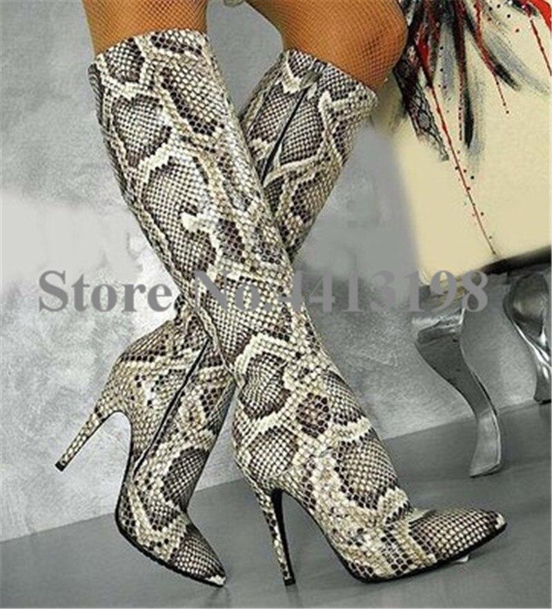 Heels as Fashion Solid As Hohe Dünne Picture Picture Schuhe Mid Zip Flock Frau Frauen Plattform kalb knoten Runde Neue Kappe Stiefel Schmetterling Super a1qdC1w