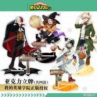 Anime My Boku No Hero Academia Midoriya Izuku Todoroki Shoto Cosplay Acrylic Stand Figure Model Desk Decor Hallowmas Gifts