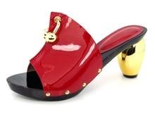 Rot! gut aussehende damen schuhe mit strass! hochwertigen Afrikanischen Pumpen Schuhe stil schuhe für party!! HX1-12