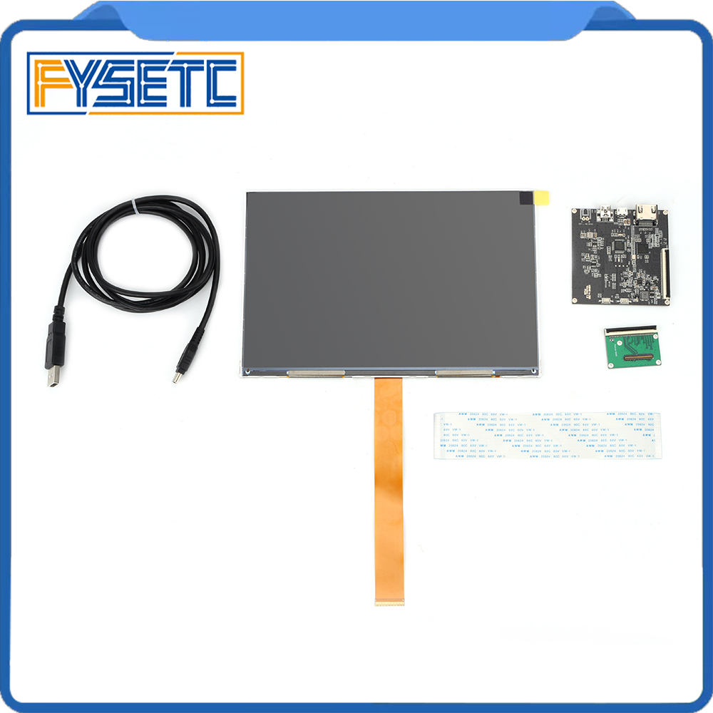 2560x1600 8 9inch LCD Screen Display with HDMI MIPI Driver Board kit For  DIY For Wanhao Duplicator 8 DLP SLA 3D Printer VR Glass
