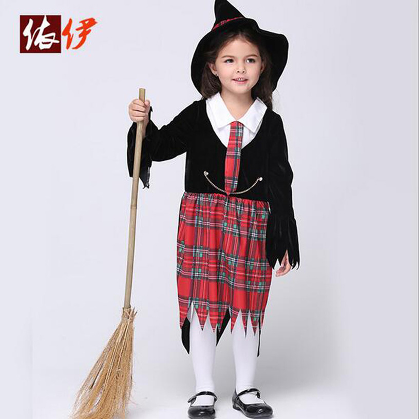 Halloween Girls Dress Cosplay Assassin Costumes Kids Party Clothing Children's Movie Cosplay Fantasias Kids Fancy Dress devil may cry 4 dante cosplay wig halloween party cosplay wigs free shipping