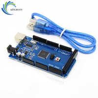 KINGROON MEGA 2560 R3 ATmega2560 R3 AVR USB board + Free USB Cable for Arduino 2560 MEGA2560 R3