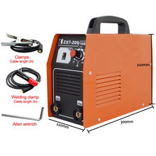 DC 220V Portable Arc Welder Household Inverter High Quality Mini Electric Welding Machine Easy weld electrode Arc Welder inverter dc argon arc welding machine base plate with high silicon bridge arc plate clamp configuration of four new capacitance