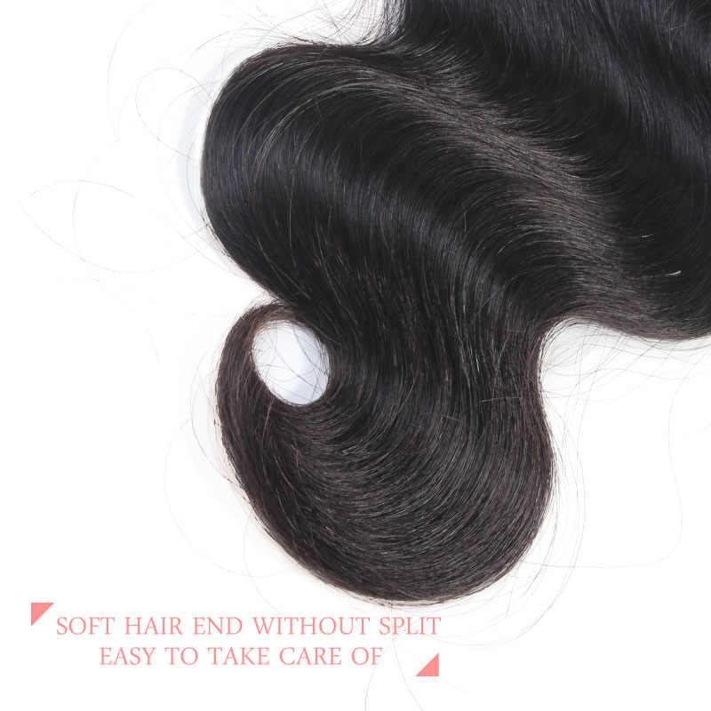 Ali queen 13x6 предварительно выщипанные кружевные фронтальные Экстра про. Соотношение 10А бразильские виргинские волосы объемная волна натуральный цвет закрытие швейцарское кружево