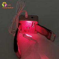 650nm Laser Therapy Watch Home Wrist Diode High Blood Pressure High Blood Fat Sugar for Diabetes Semiconductor Treatment CE Cold
