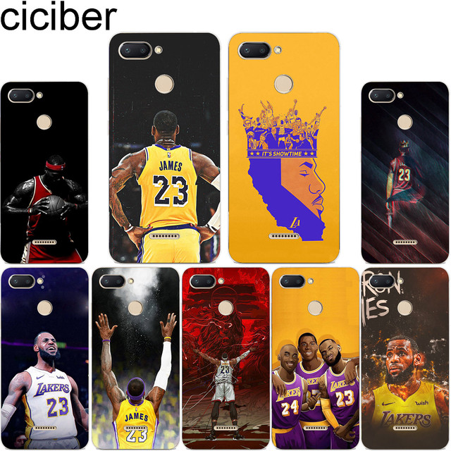 261b9766e073 ciciber For Xiaomi Red 6 5 4 3 A X S Pro Plus S2 Soft Clear TPU Back for  Redmi Note 6 5 4 3 X A Pro Phone Cases LeBron James. Rated 3.5 5 based on  ...