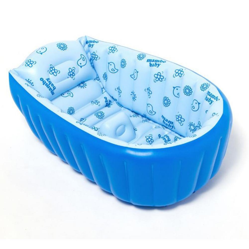 Inflatable Baby Swimming Pool Tub Infant Thicken Security Inflating ...