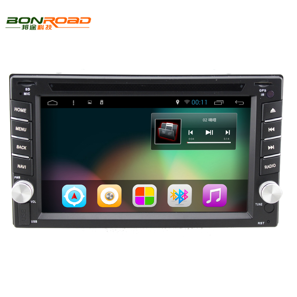 Bonroad Android  Inch  Din Touch Screen Quad Core Car Auto Radio With Rds